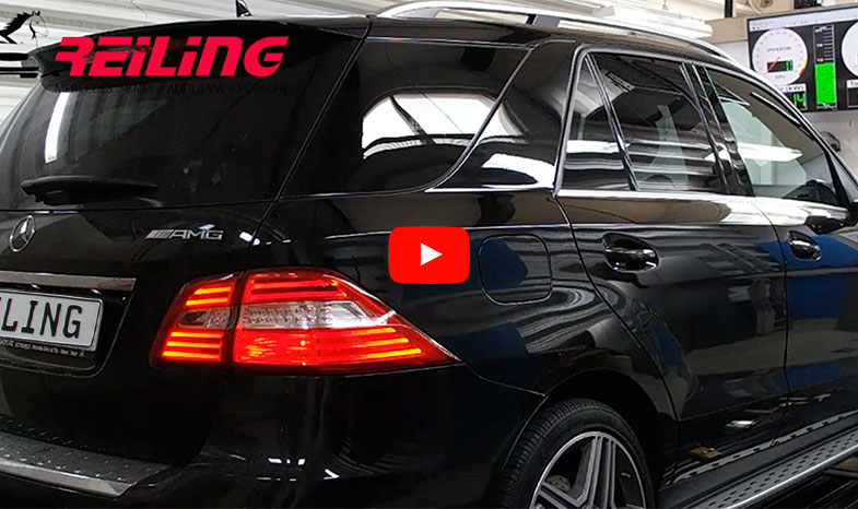 mercedes ml 63 amg reiling -tuning 700 ps - reiling tuning
